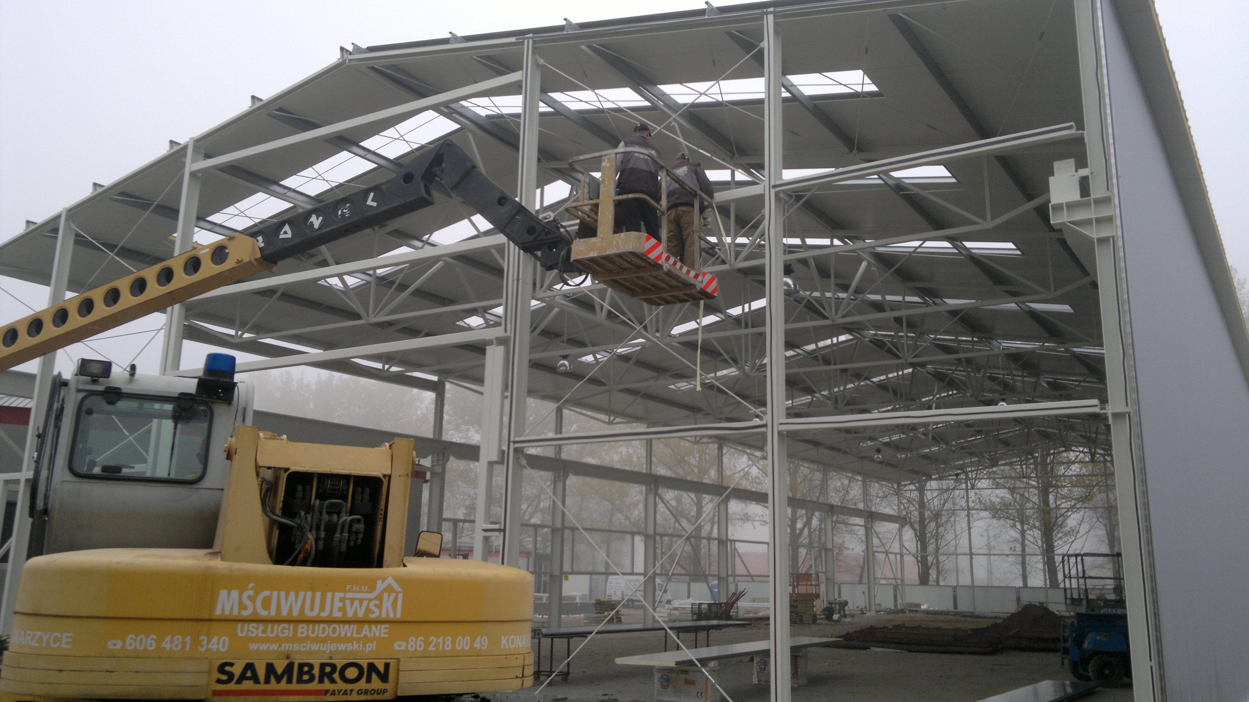 Budowa hal i budynków przemysłowych