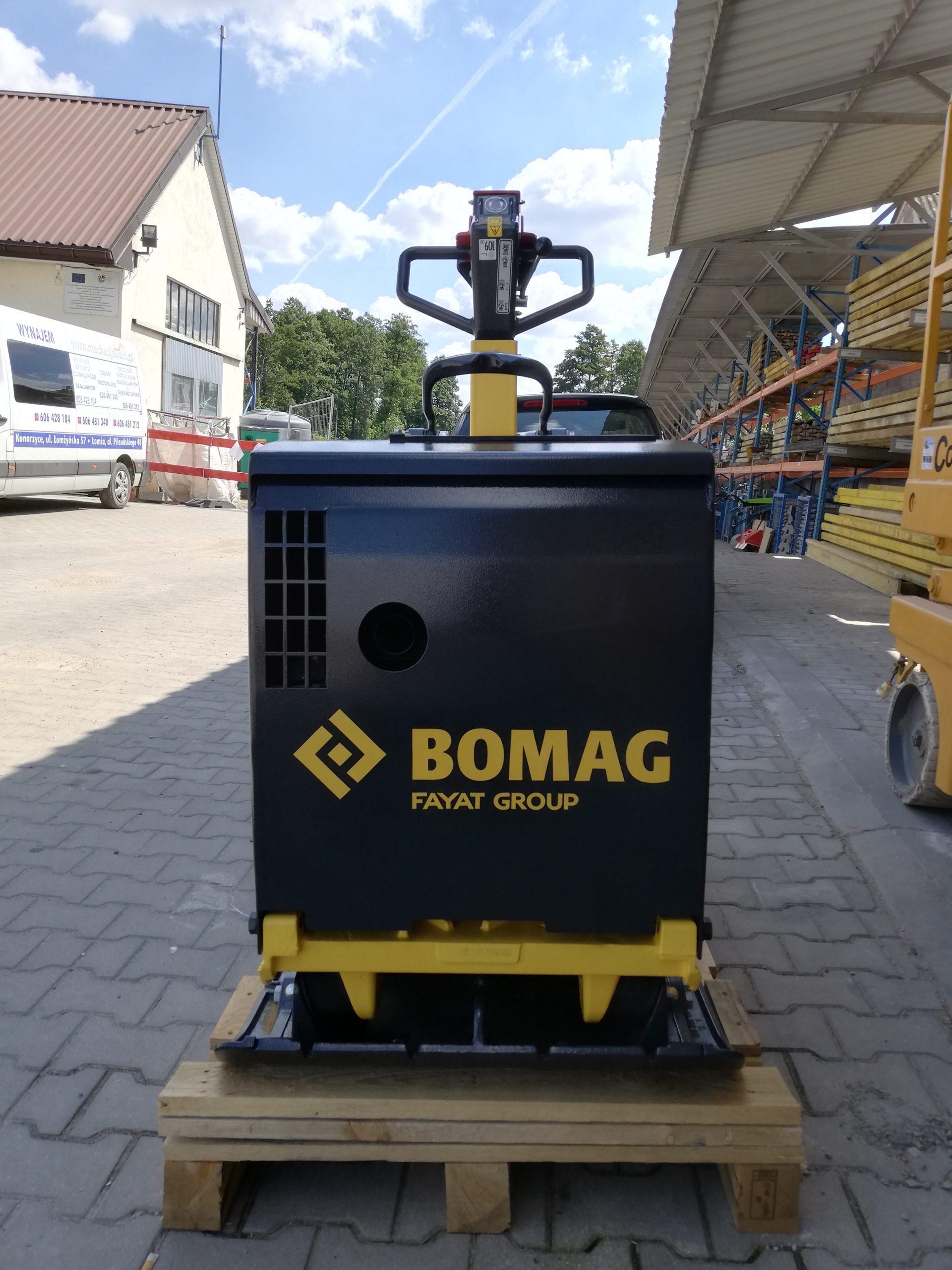 Zagęszczarka (580kg) rewersyjna BOMAG BPR 7070D HATZ z economizerem