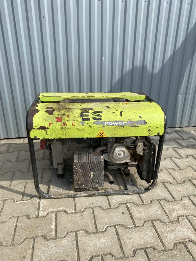 Agregat prądotwórczy Pramac ES8000